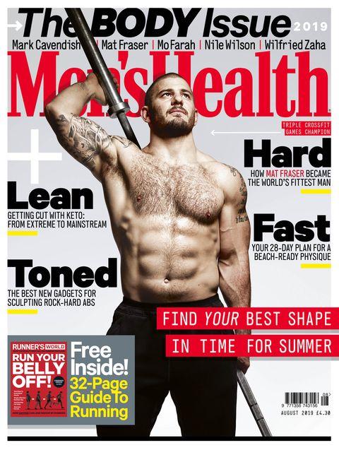 Magazine, Muscle, Bodybuilding, Barechested, Chest, Abdomen, Physical fitness, Flesh,