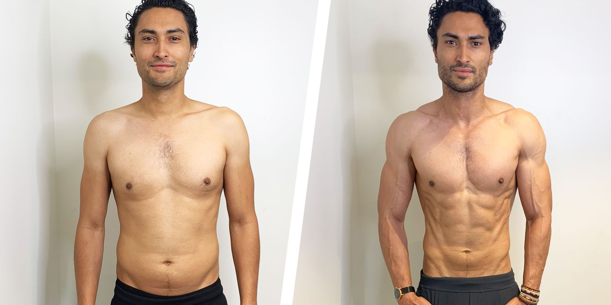Simple Diet Changes Helped This Guy Build Muscle and Get Shredded in 6 Weeks