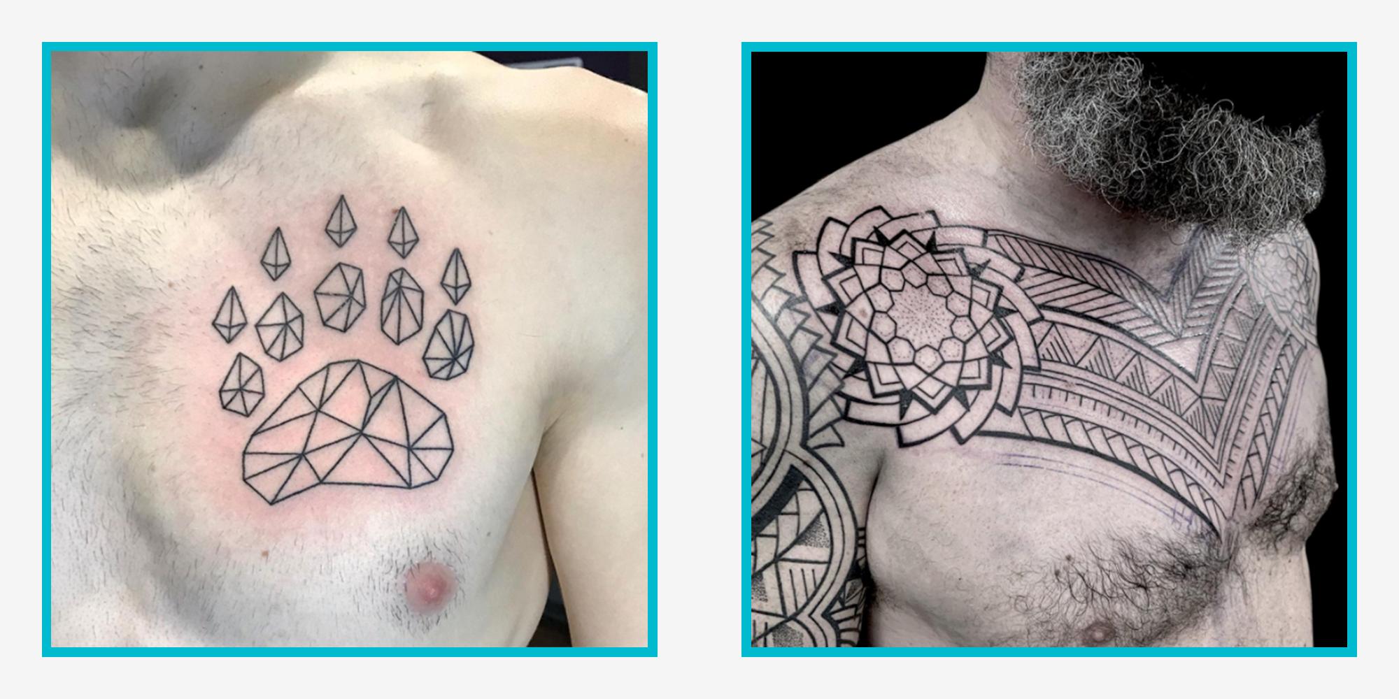 20 Best Chest Tattoo Ideas for Men 20