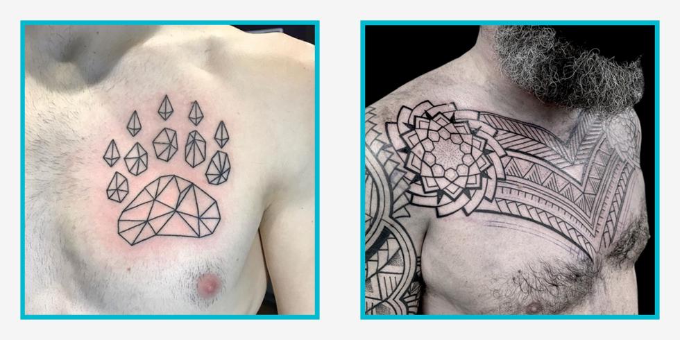 The 17 Best Chest Tattoos for Men thumbnail