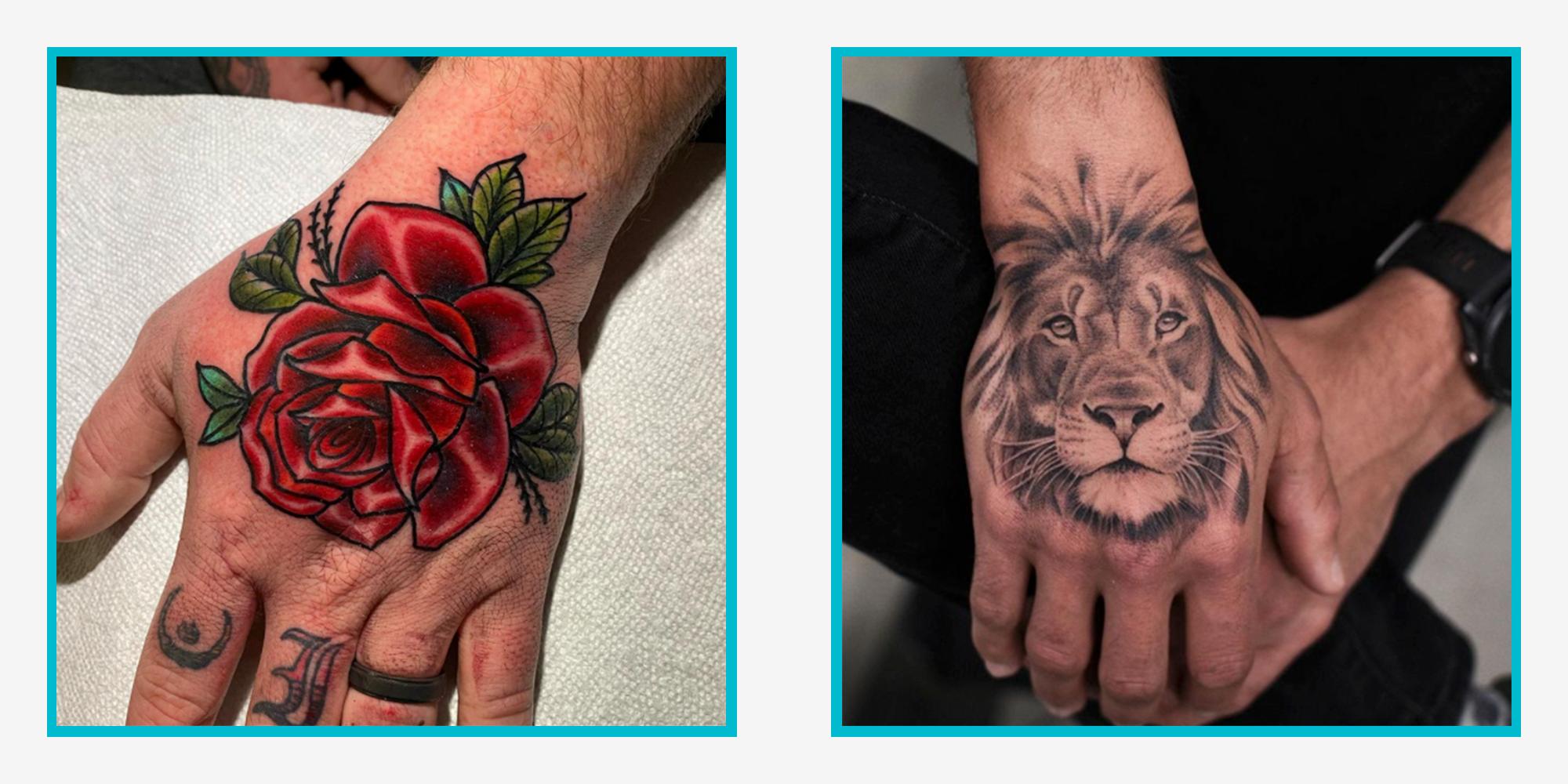 20 Best Hand Tattoos for Men 20   Full Hand and Finger Ideas