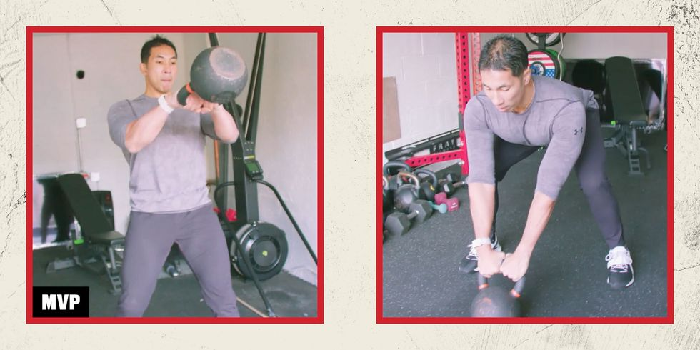 MVP Level Up: 5 Kettlebell Swing Progressions to Build Strength and Power thumbnail