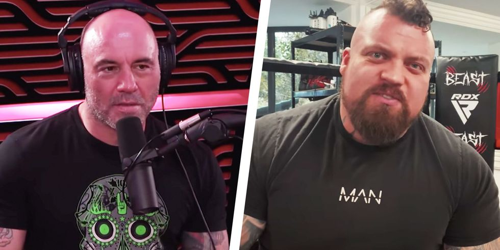 Eddie Hall Responds to Joe Rogan's Criticisms of His Boxing Technique