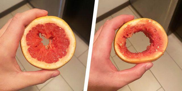 grapefruit blowjob