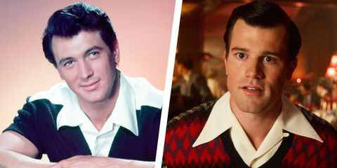 real rock hudson and his netflix hollywood depiction