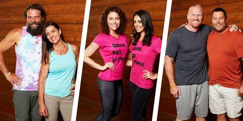 Meet the 6 'Survivor' Contestants on 'The Amazing Race' 2019