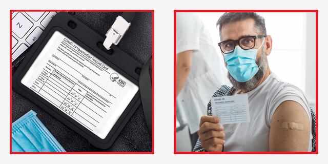 vaccine card case