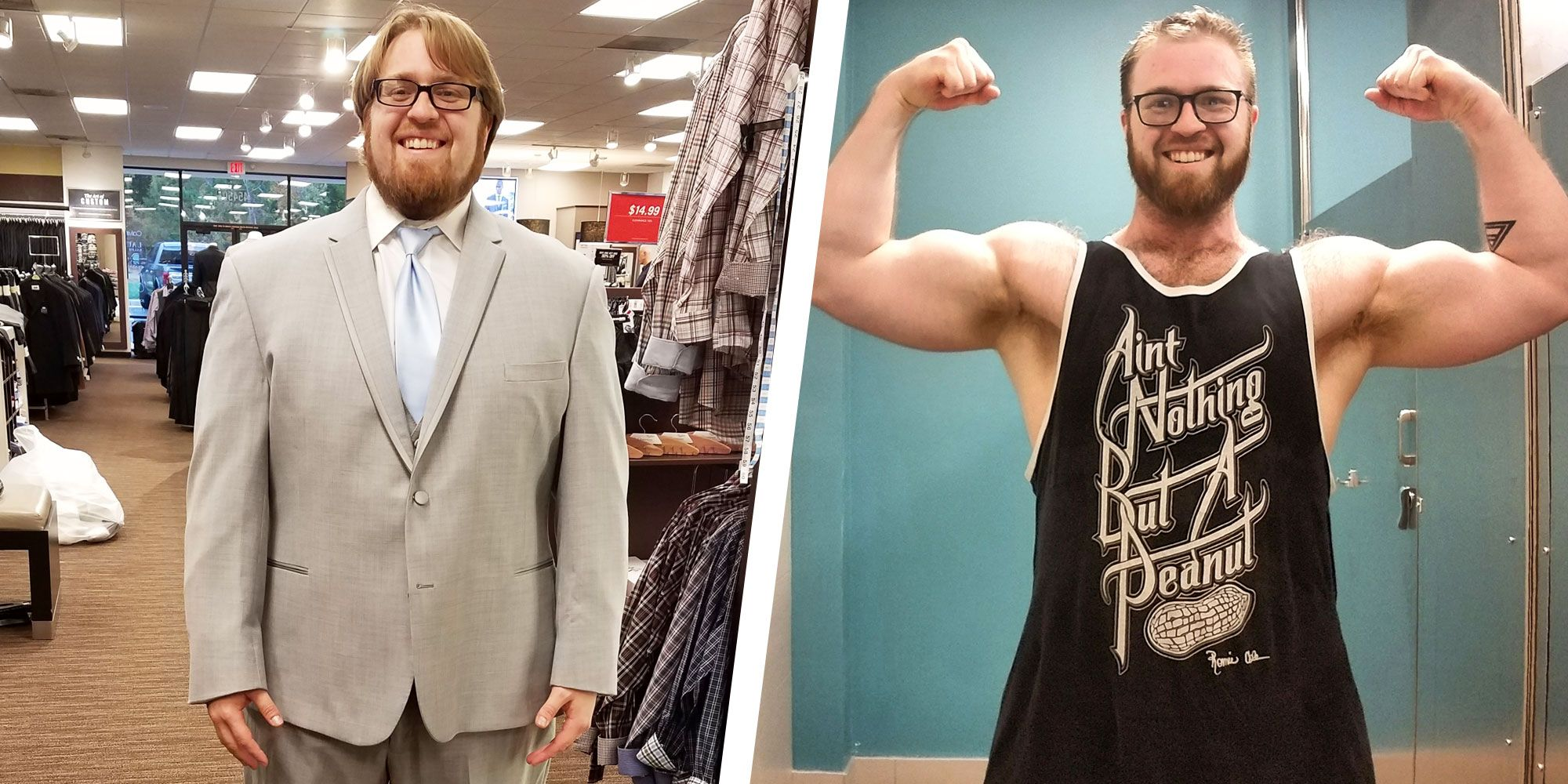 This Guy Changed His Diet and Workout Routine and Lost 50 Pounds in 10 Months