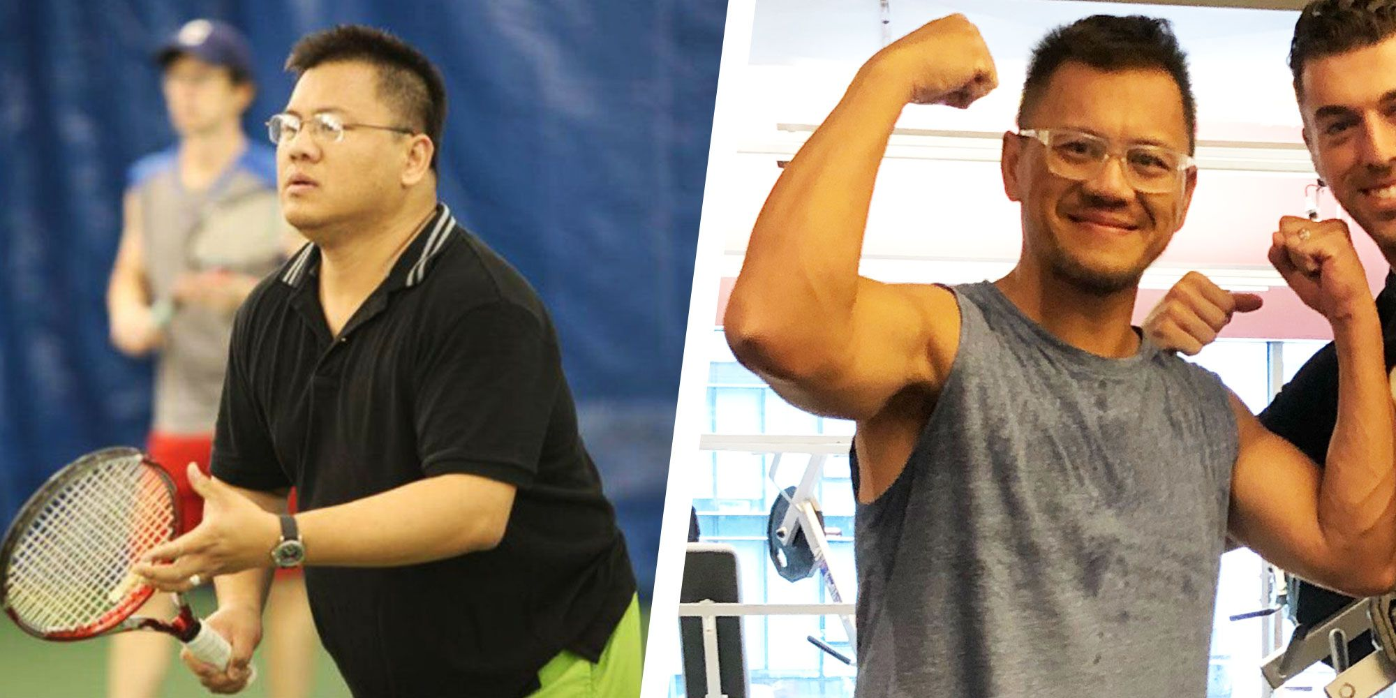 This Guy Overcame Serious Back Pain and Lost More Than 100 Pounds