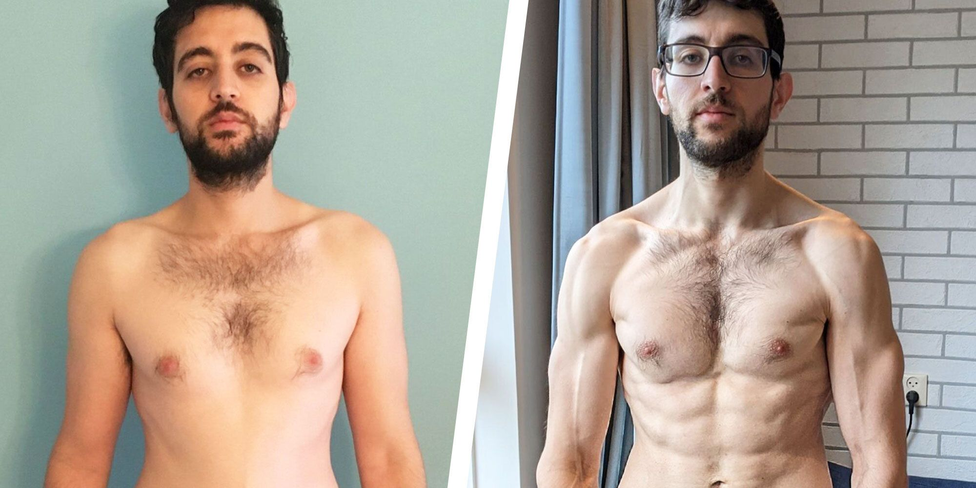 I Lost 20 Pounds and Got Ripped in 6 Months While Gyms Were Closed