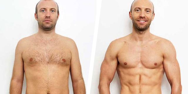 muscle, weight loss, transformation, before and after