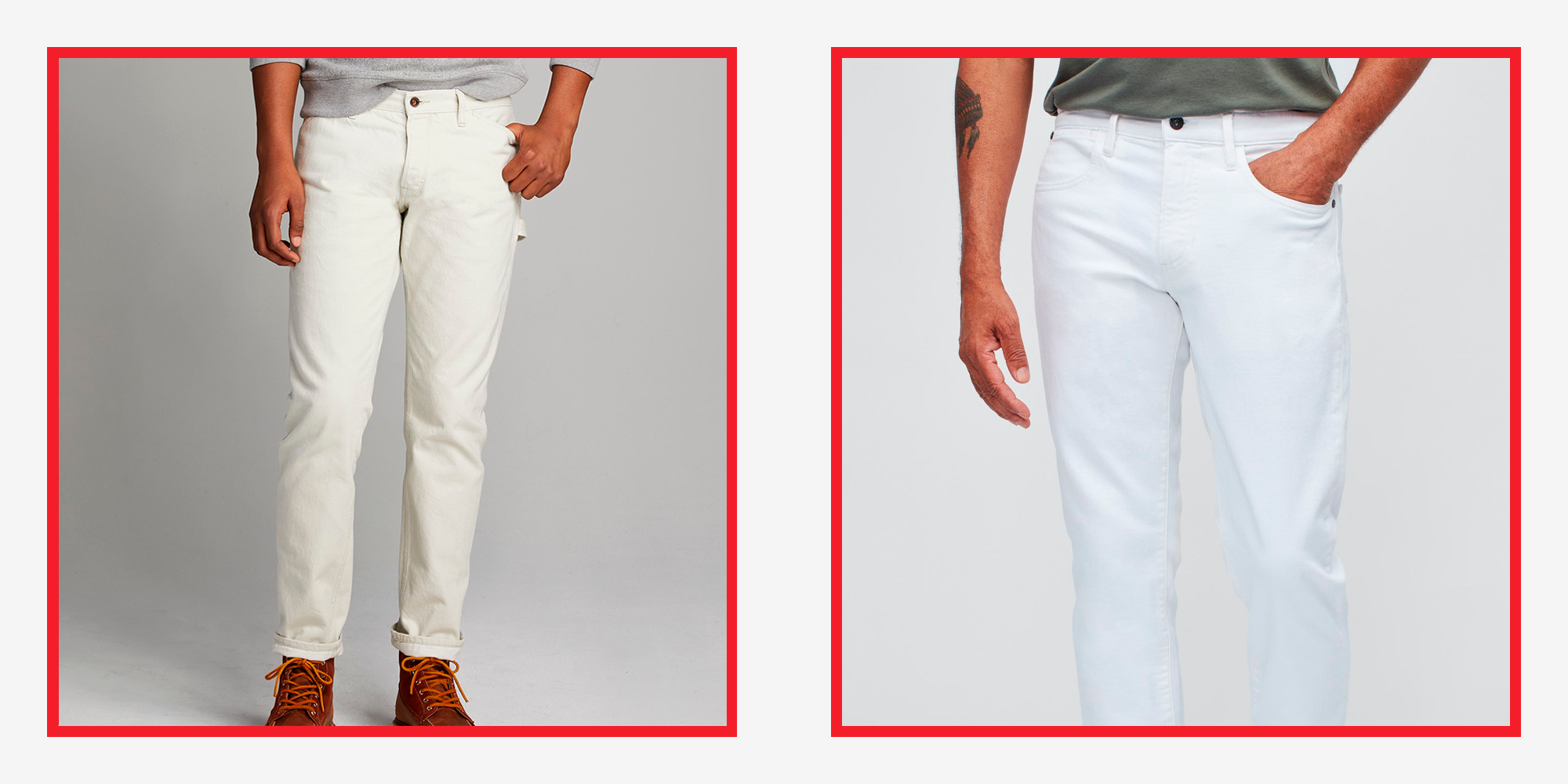 The 8 Best White Jeans for Men to Live in This Summer