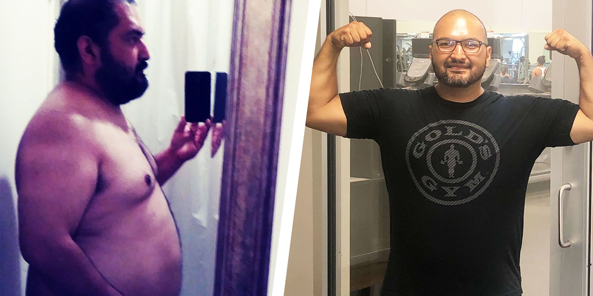 A Few Simple Changes to This Guy's Diet Helped Him Lose 115 Pounds and Get Fit