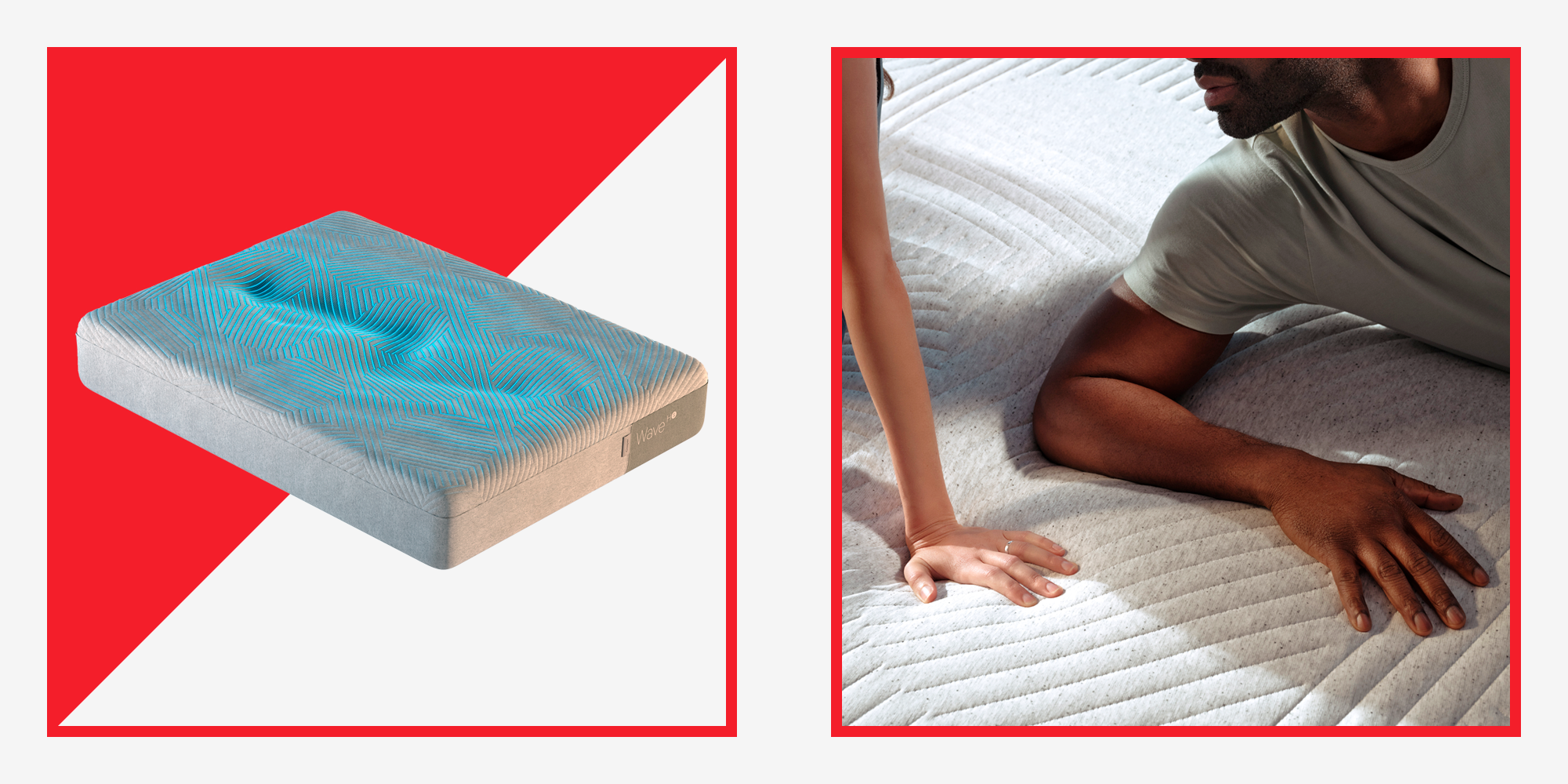 Casper's Wave Hybrid Snow Mattress Is Like the Cool Side of the Pillow for Your Whole Body