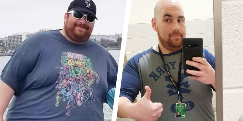 How Keto and Intermittent Fasting Helped This Guy Lose More Than 130 Pounds