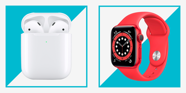 apple airpods and apple watch series 6