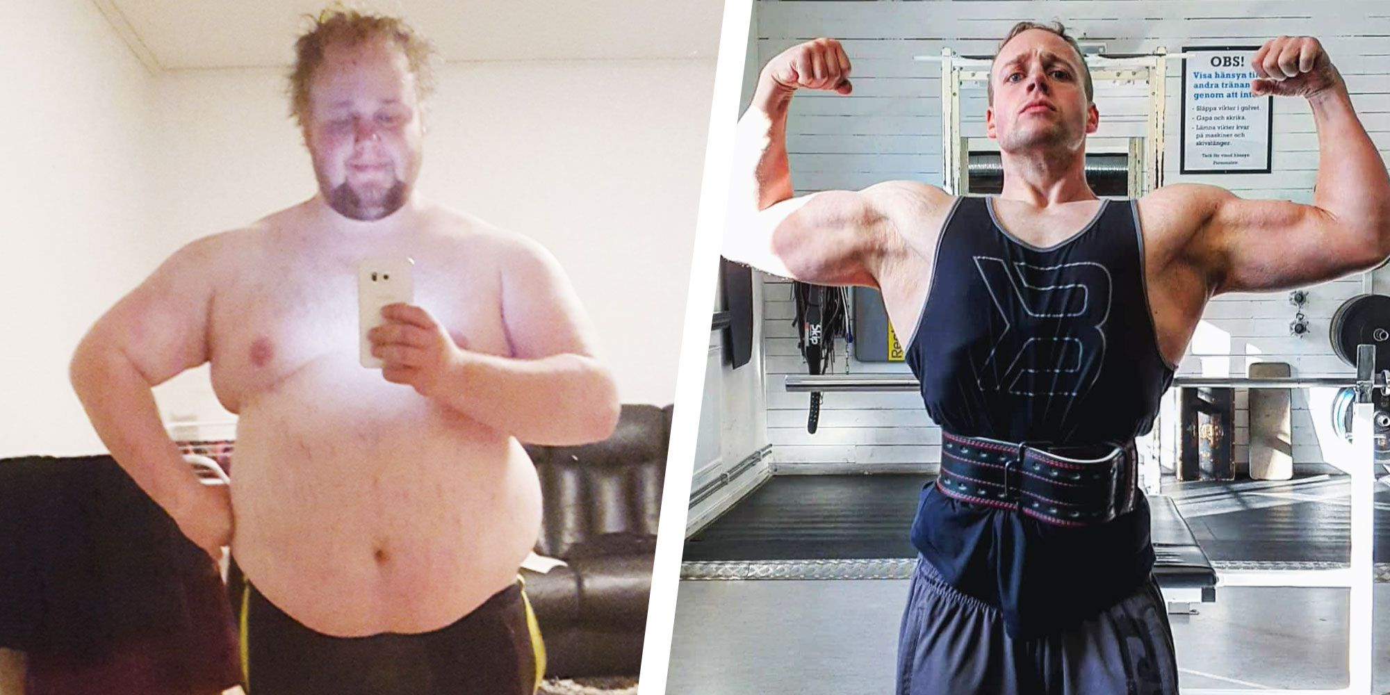 This Guy Lost 180 Pounds By Learning to Eat and Exercise Smarter