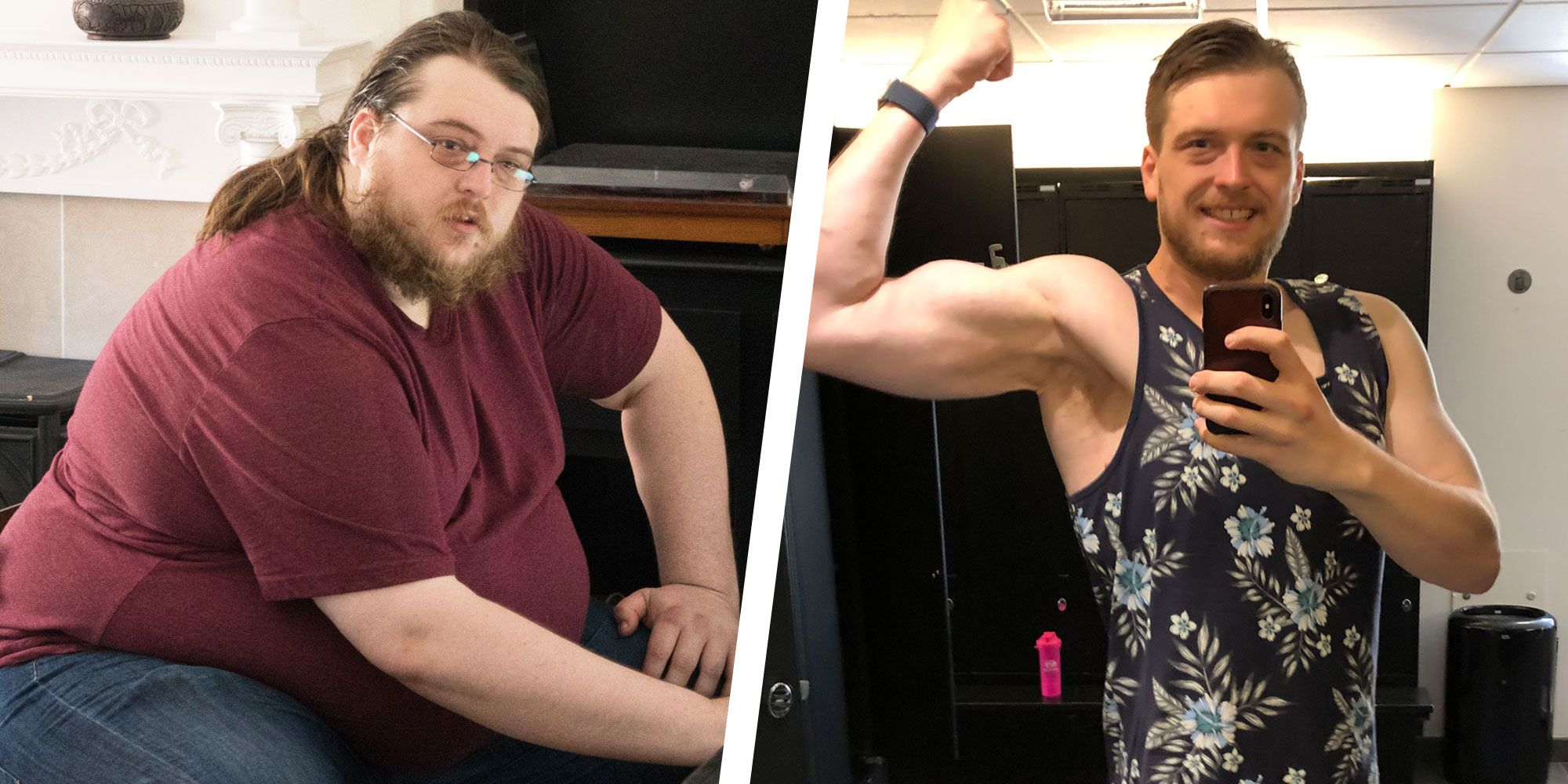 Three Major Changes Helped This Guy Lose 155 Pounds and Get Jacked