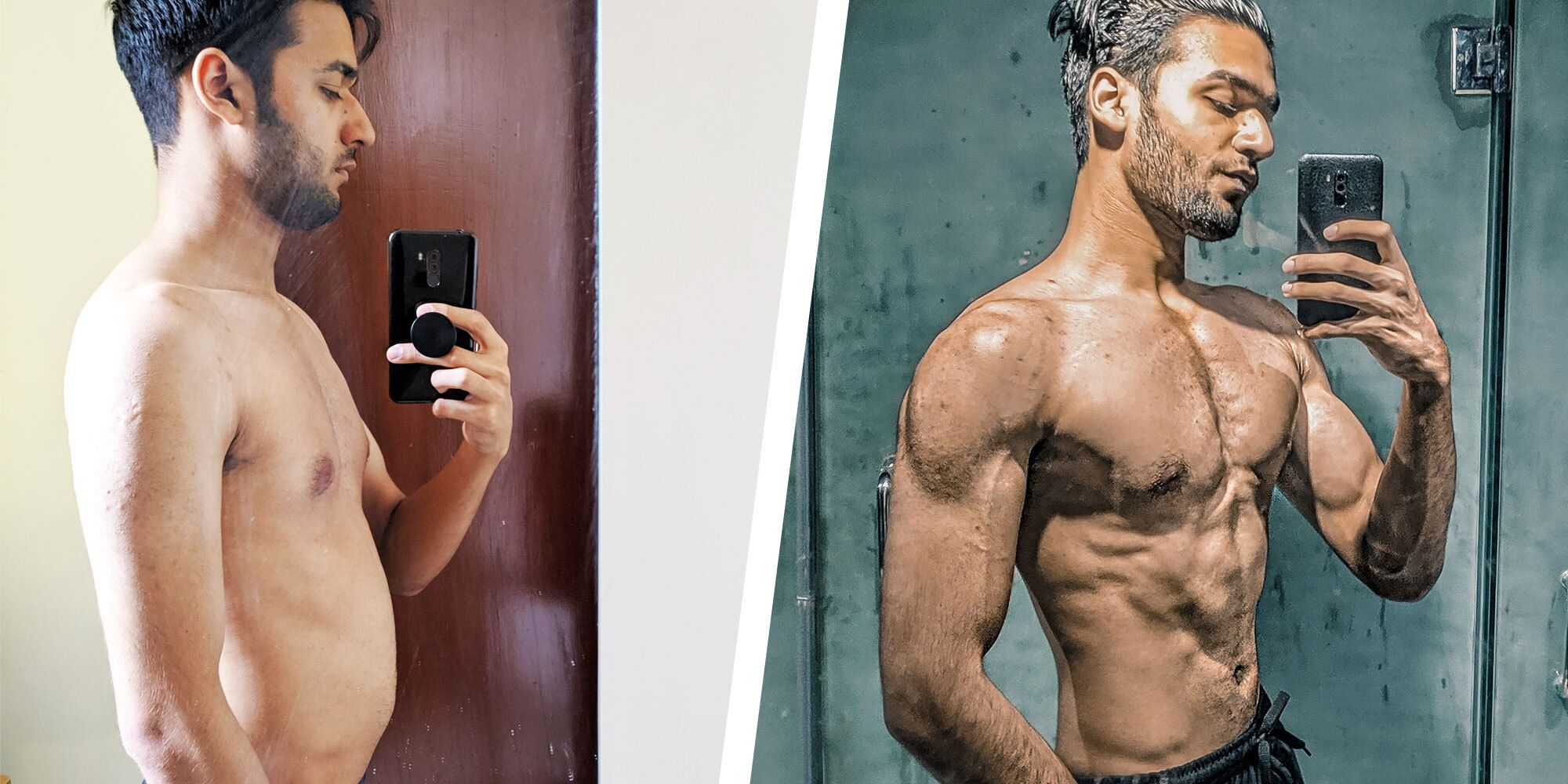 This Guy's Mental Health Breakthrough Led to a Complete Body Transformation