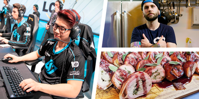 what esports team eats high protein competitive gaming