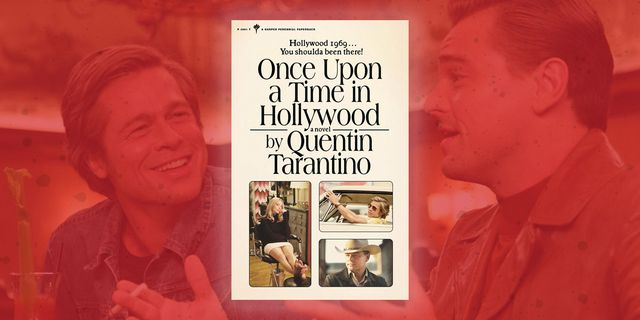 quentin tarantino once upon a time in hollywood novel