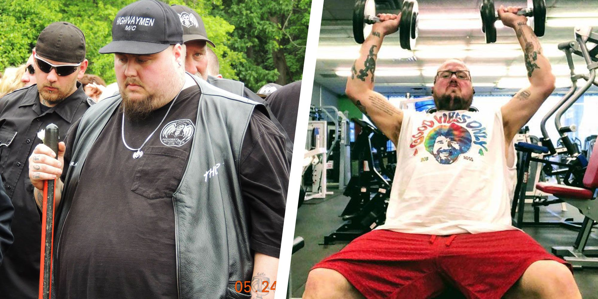 How This Guy Got Motivated to Hit the Gym and Lost 300 Pounds