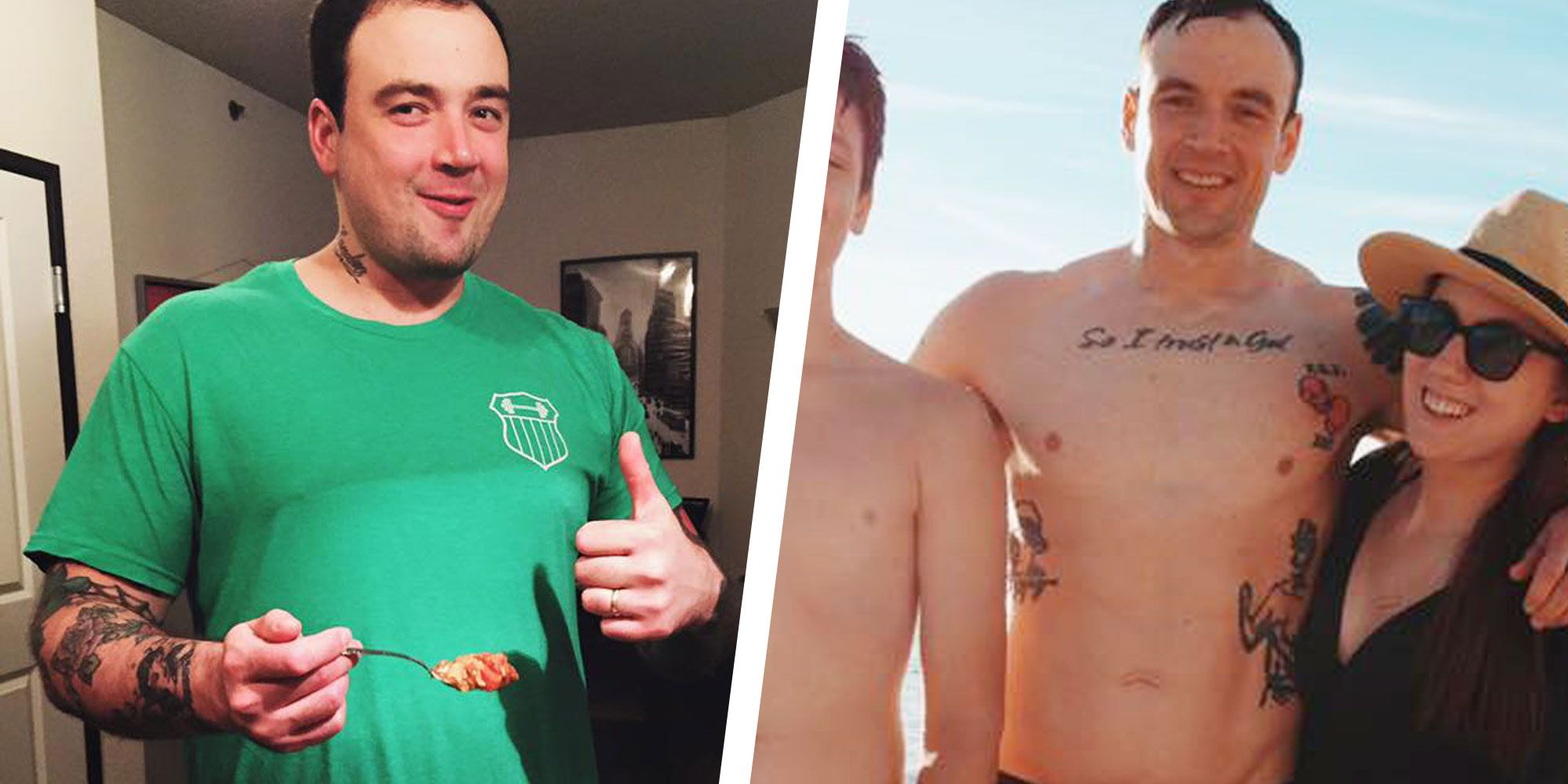 How This Powerlifter Fixed His Diet and Went From Fat to Fit