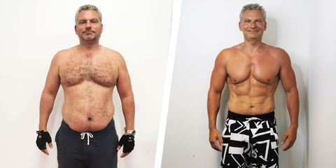 This Guy Gave Up Drinking and Got into the Best Shape of His Life at 46