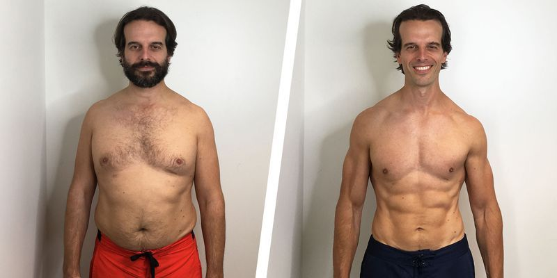 A Simple Workout Plan Helped This Guy Lose 30 Pounds and Get Shredded