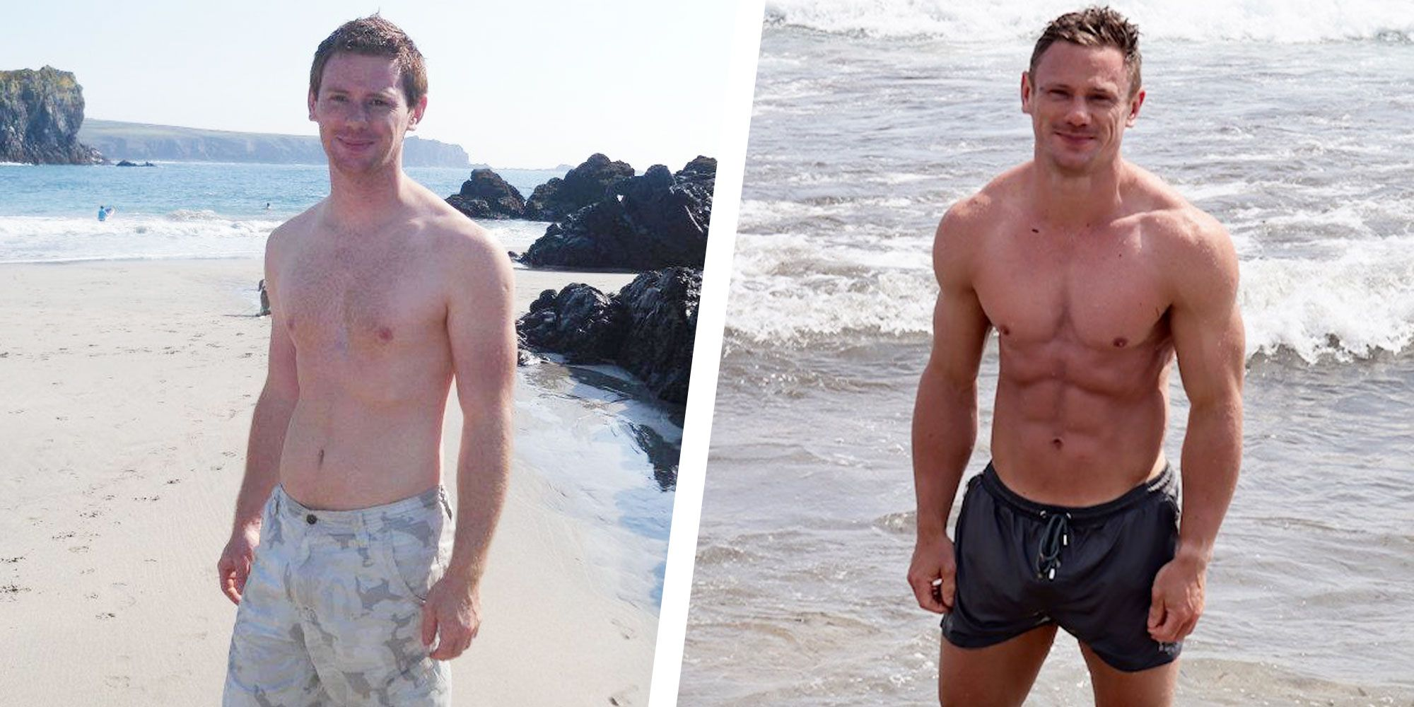 Two Simple Diet Changes Helped This Guy Reveal His Six-Pack Abs