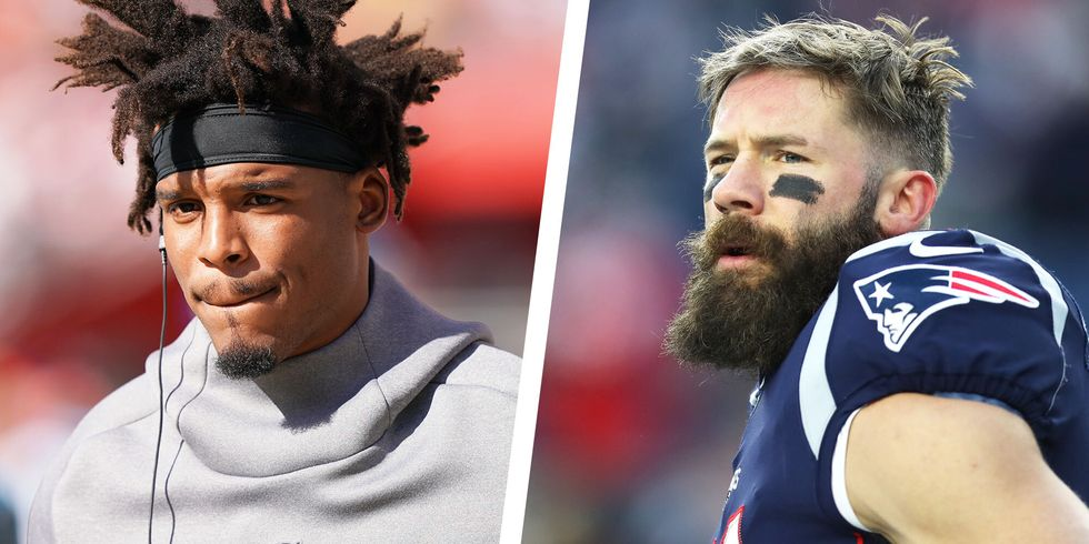 Cam Newton Just Shared a Look at His Offseason Training With Julian Edelman thumbnail
