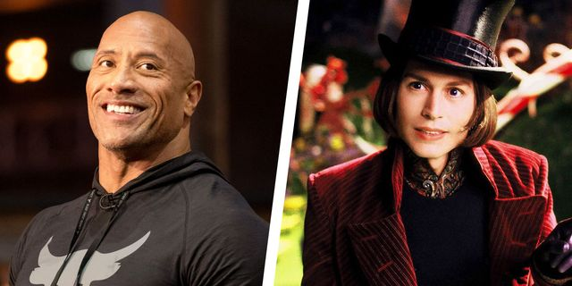 the rock willy wonka