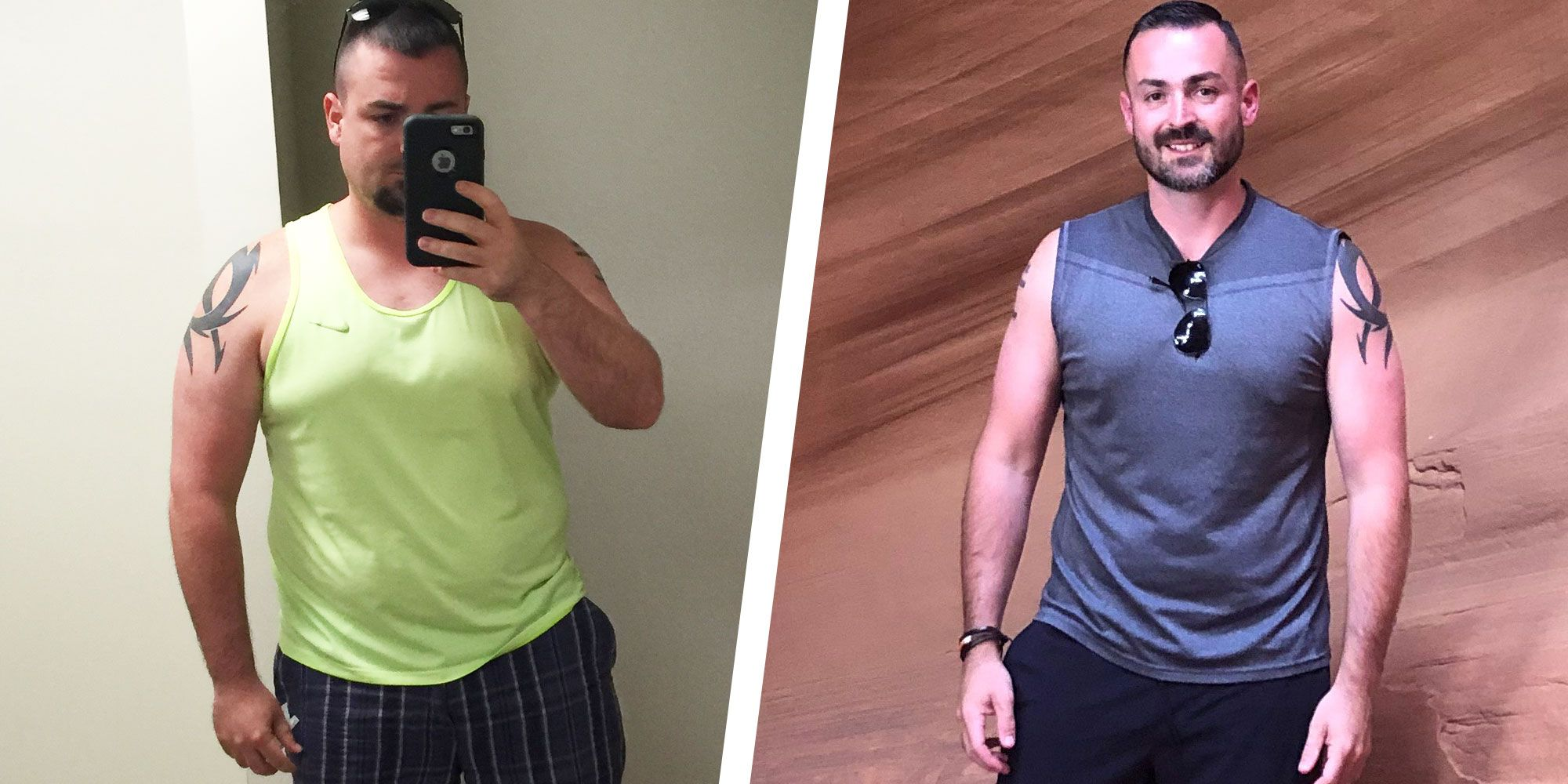 A Small Change to This Guy's Routine Helped Him Lose 70 Pounds