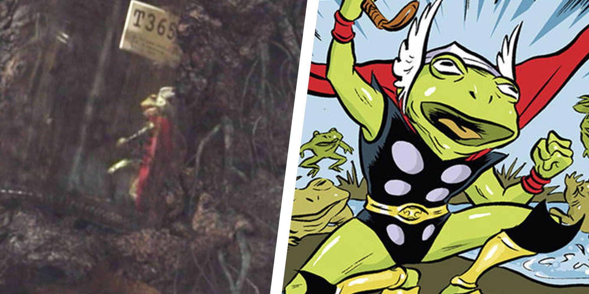 Loki Introduces First Thor Variant With Throg, AKA Frog Thor
