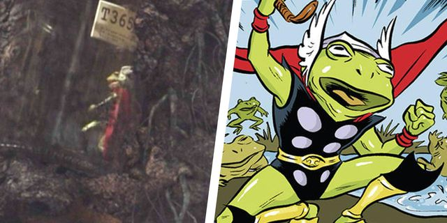 loki throg thor frog