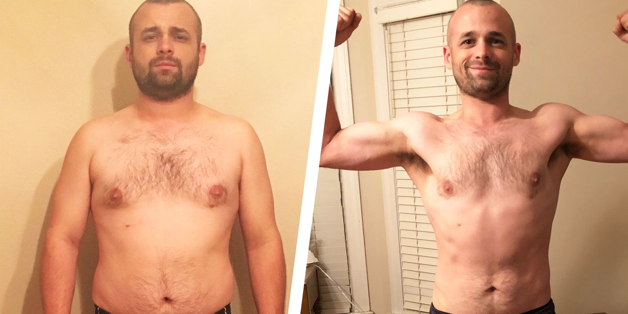 This Guy Dropped 50 Pounds in 8 Months Thanks to a Simple Diet