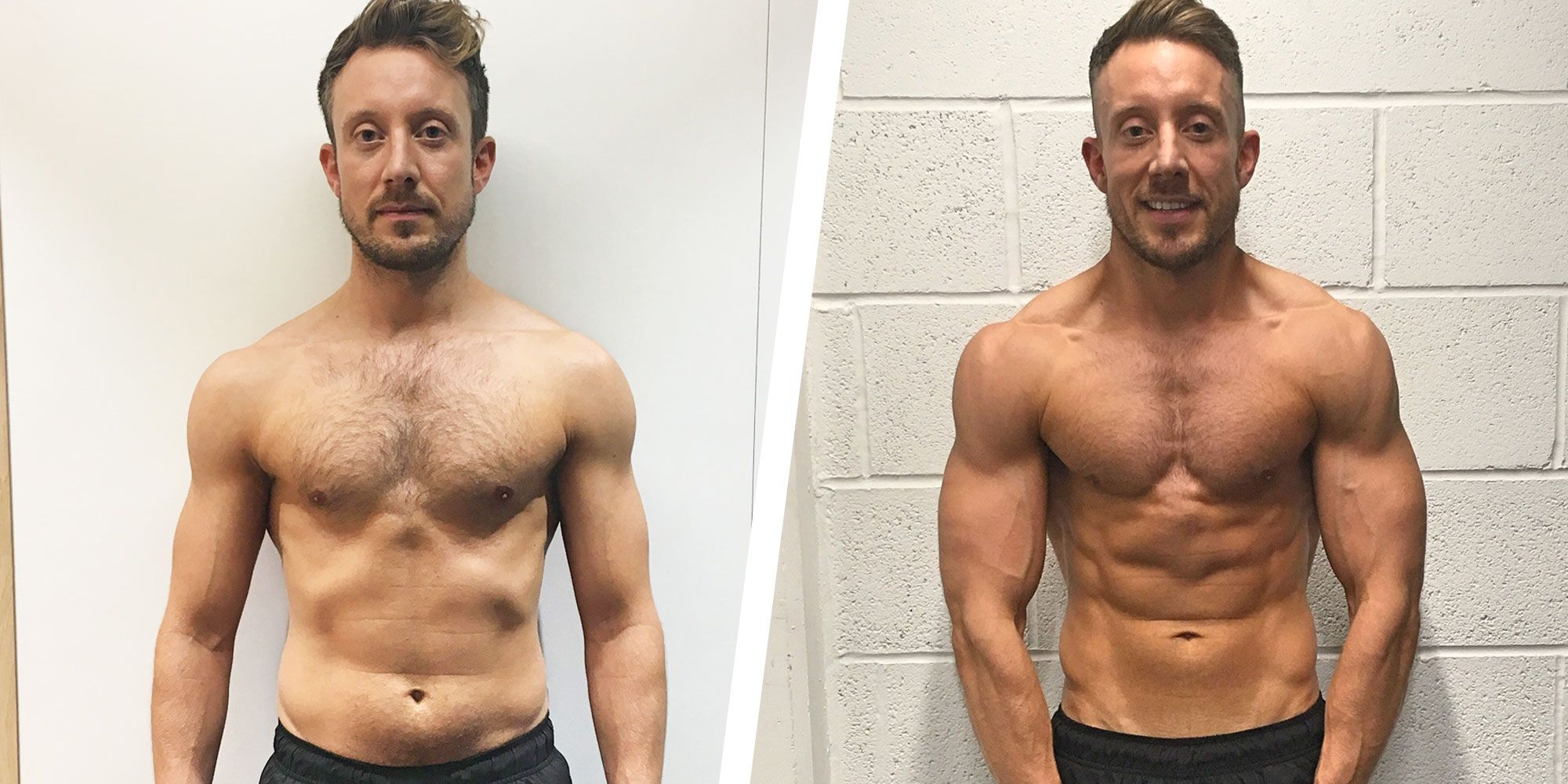 This Guy Changed Up His Diet and Workout Routine and Got Ripped