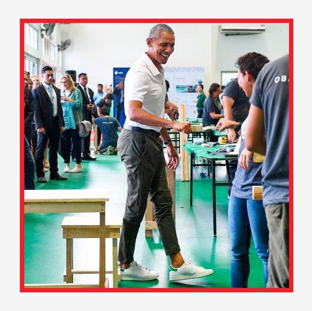 barack obama wearing adidas stan smith sneakers check out the best deals from adidas' sale today