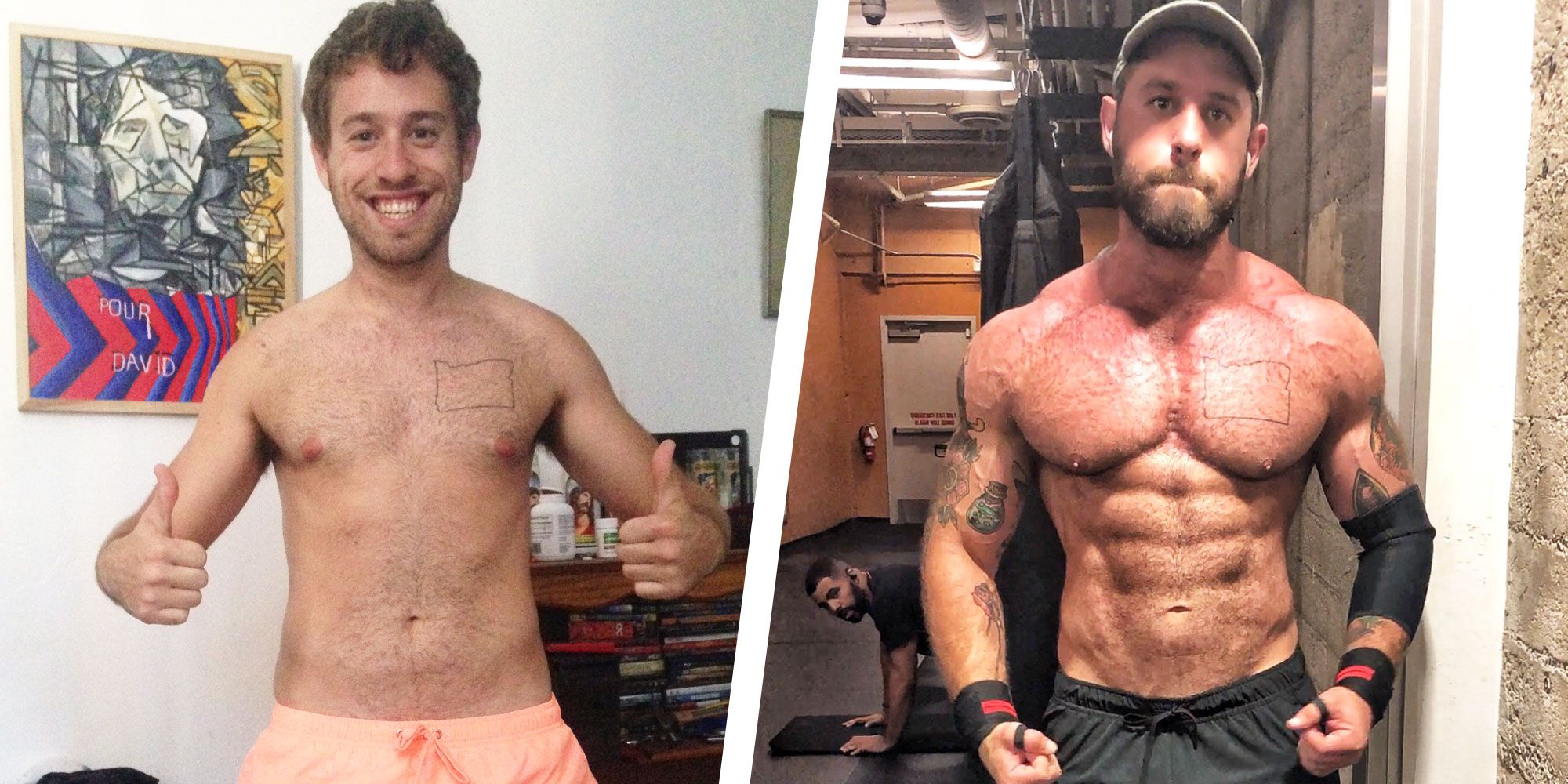 How This Guy Got Sober and Packed on Serious Muscle
