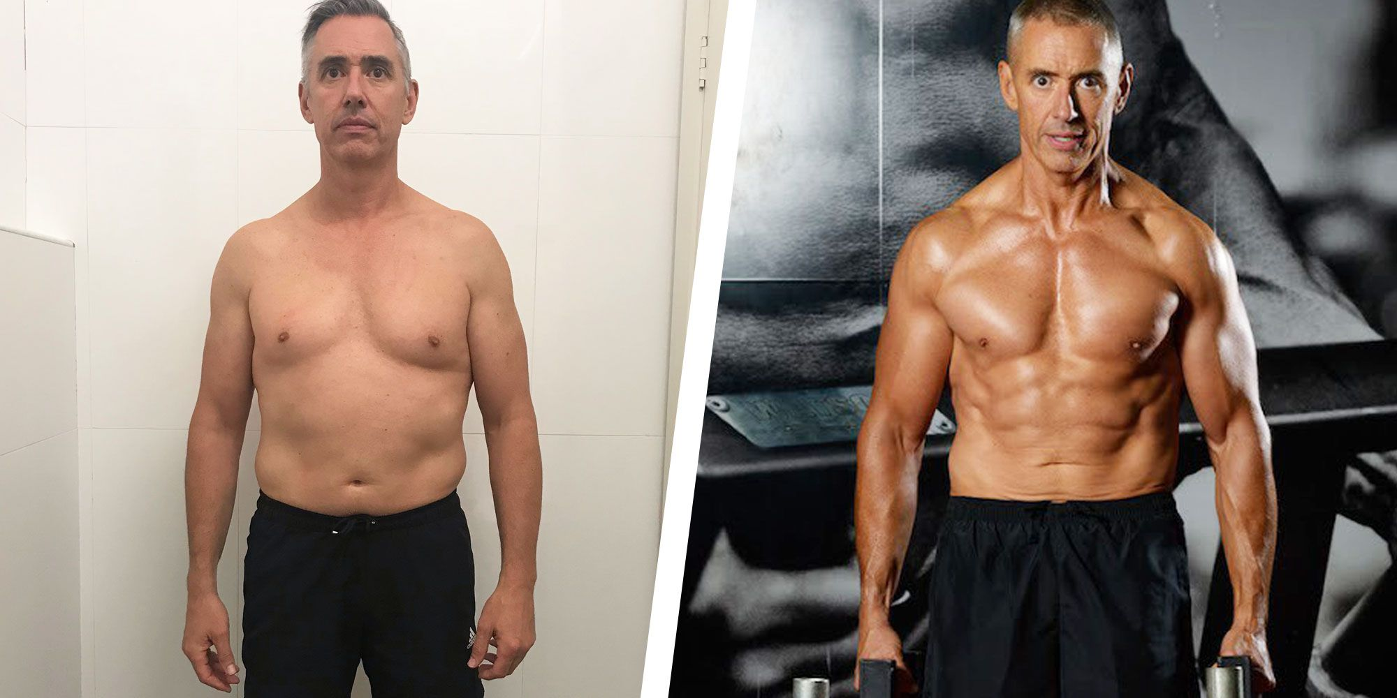 This Guy Reined in His Diet to Lose 30 Pounds and Get Shredded