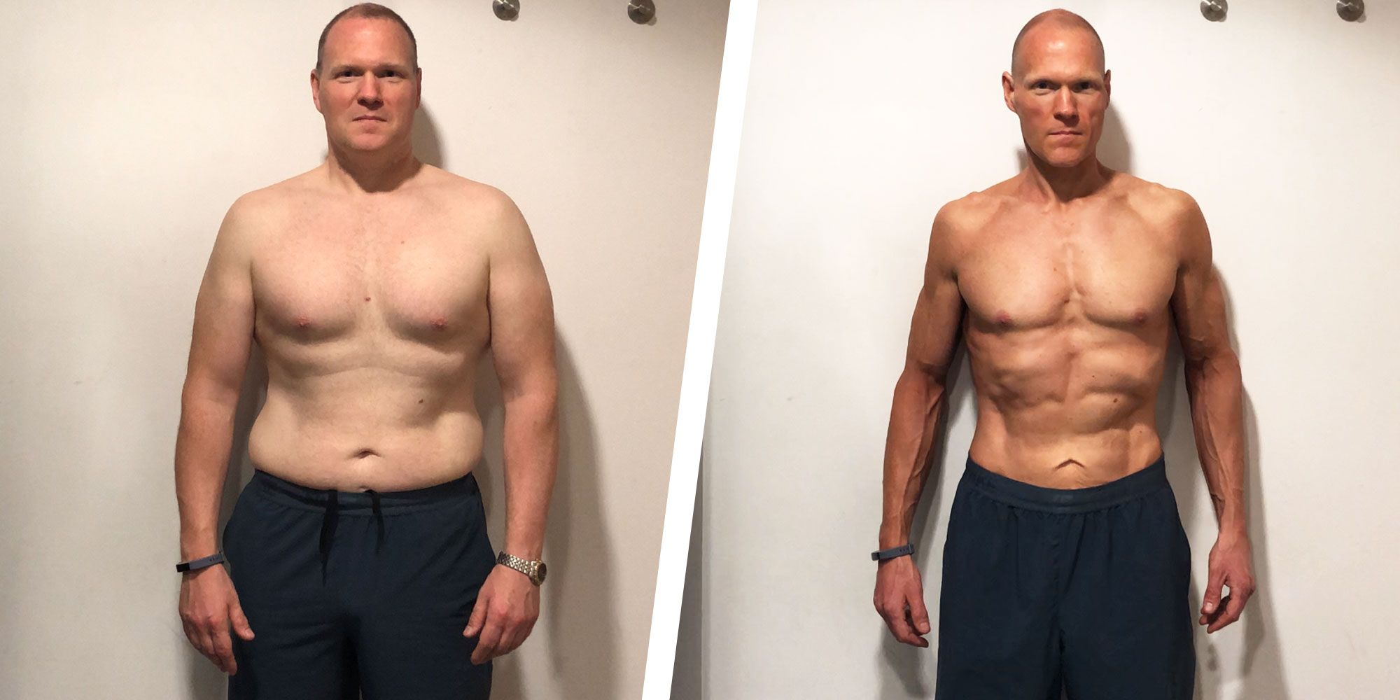 This Guy Tweaked His Diet to Lose His Gut and Get Ripped in His Forties