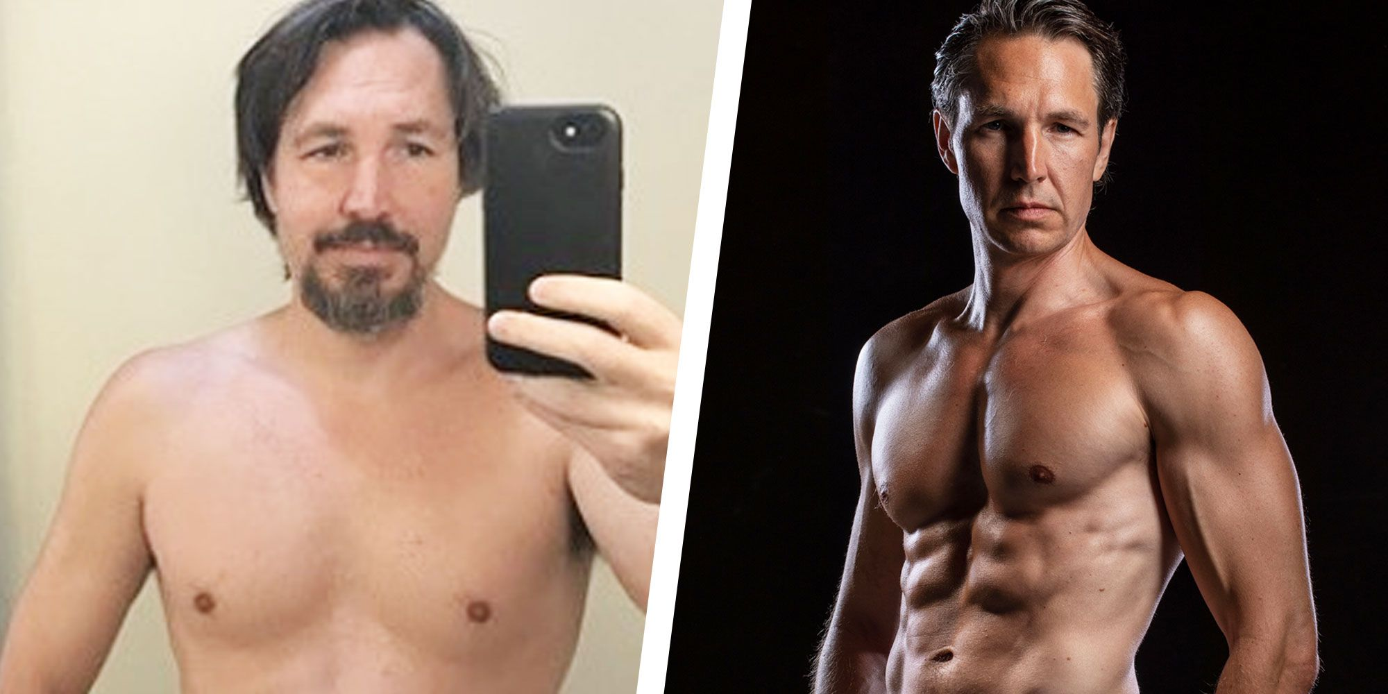 How This Guy Lost Weight and Got Shredded in His Forties on a Plant-Based Diet