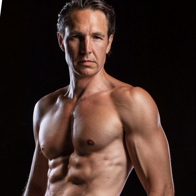 This Guy Got Shredded After 40 On A Vegan Diet