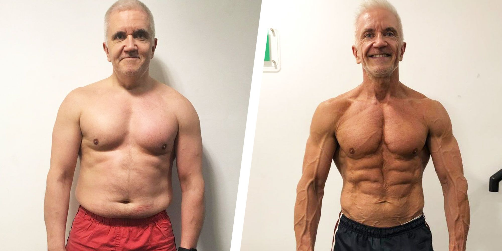This Guy Went from Being Out of Shape to Competing in Bodybuilding Competitions