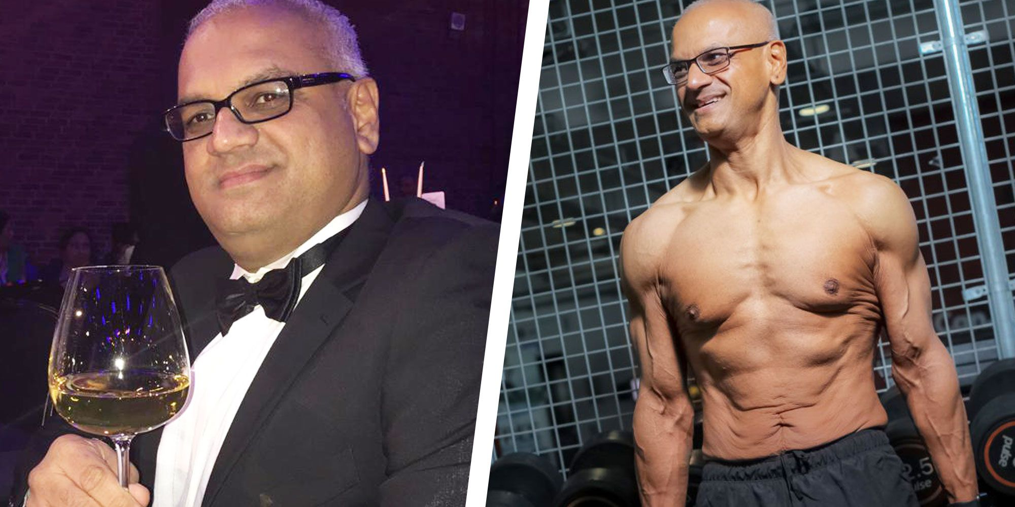 Fixing His Diet Helped This Guy Lose 45kg and Get Shredded at Age 50