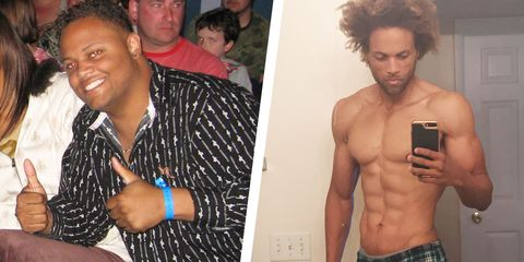 A Basic Diet Plan Helped This Guy Lose 185 Pounds and Get Ripped