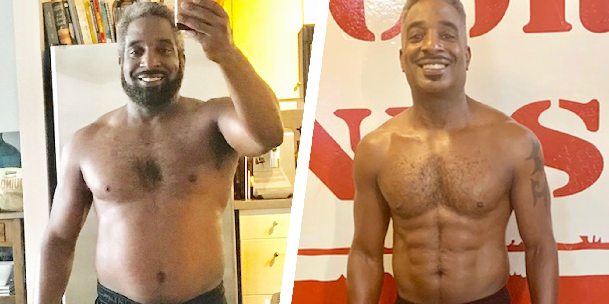 This Guy Tweaked His Diet at Age 50 and Got Absolutely Shredded