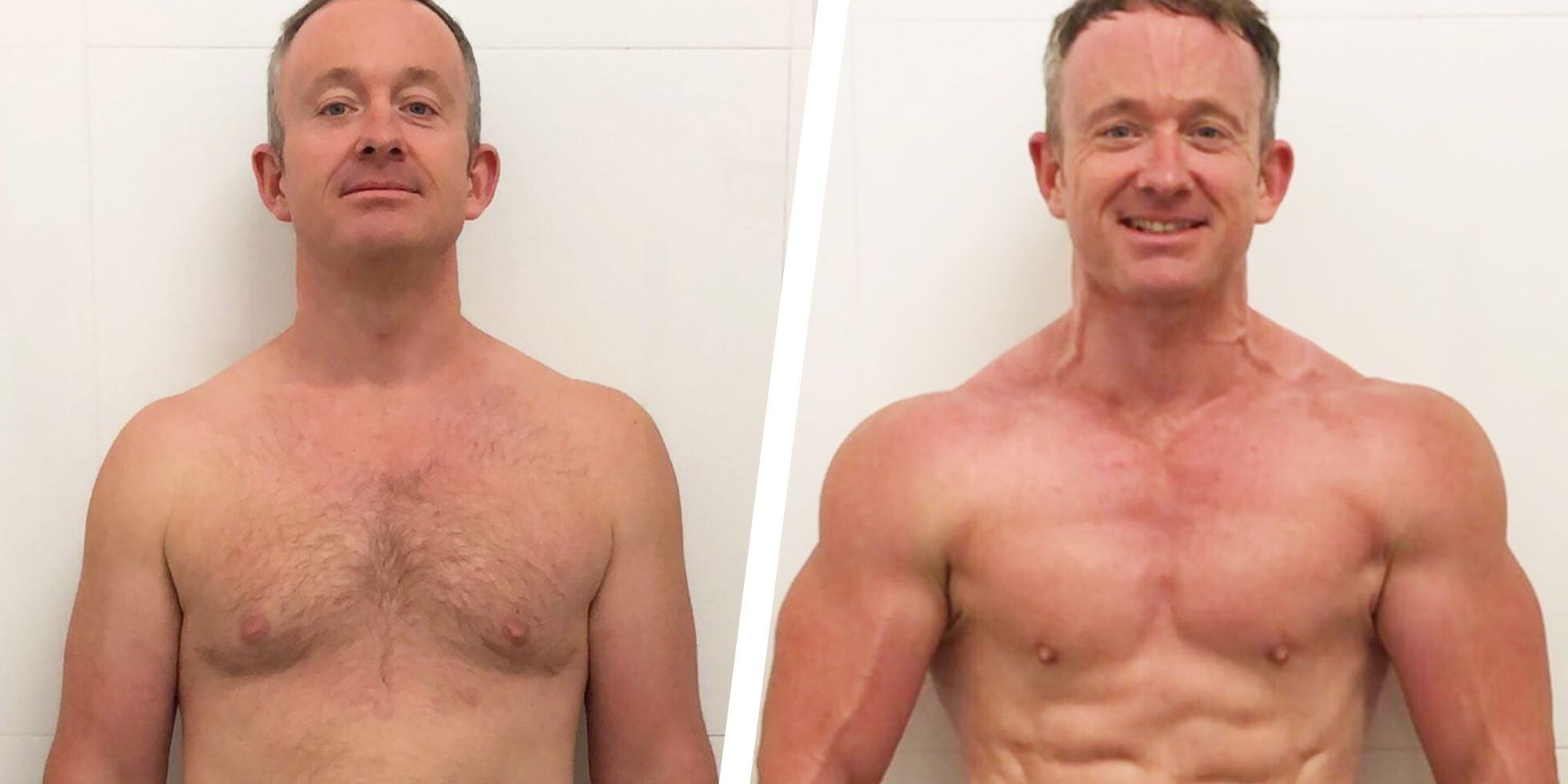 How a Few Small Diet Changes Helped This Guy Get Ripped