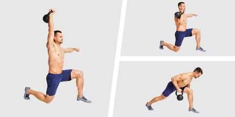 Strength training, Weights, Exercise equipment, Shoulder, Arm, Standing, Leg, Joint, Kettlebell, Knee,