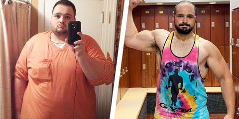 perder peso caso real